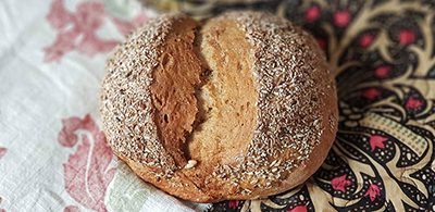 Spelt and rye loaf by The German Bakery
